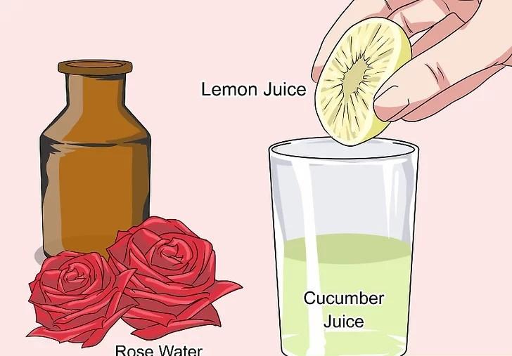 Aloe Vera Gel, Cucumber, And Rose Water