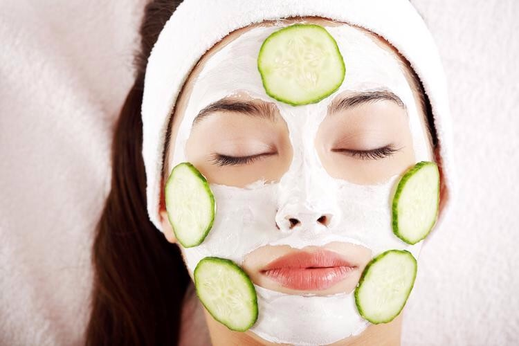 Cucumber Face Pack For Dry Skin
