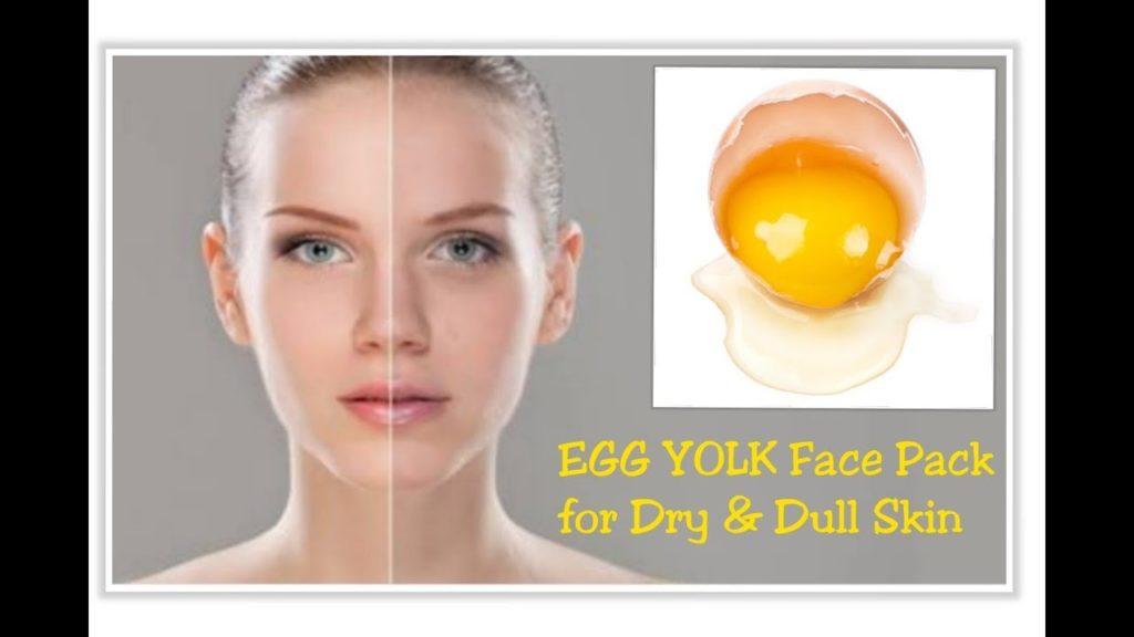 Egg Yolk Face Pack For Dry Skin