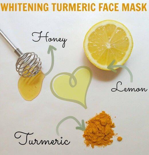 Turmeric And Lemon Face Pack