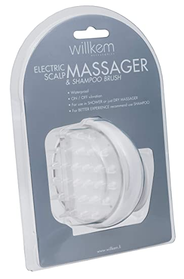 Willkem Electric Head Massager and Shampoo Brush
