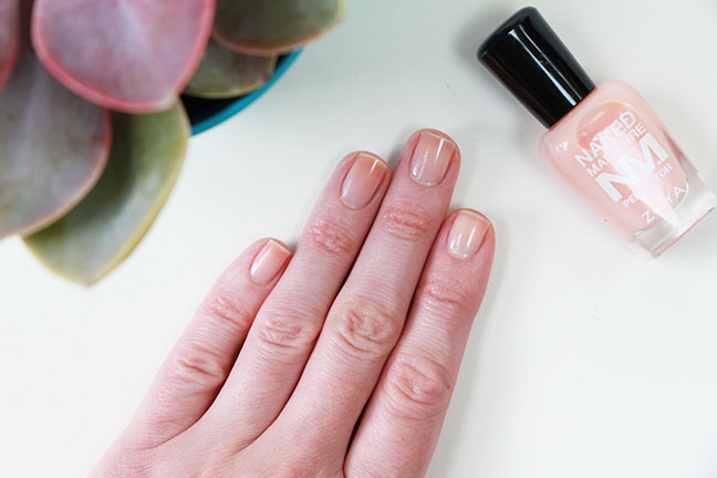 The 'naked' manicure
