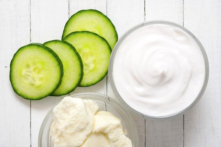 Cucumber And Curd