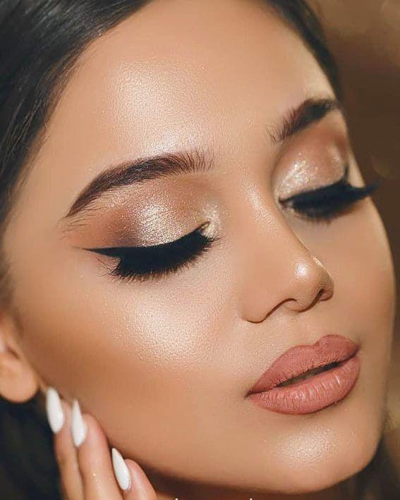 Glam Wedding Makeup Ideas